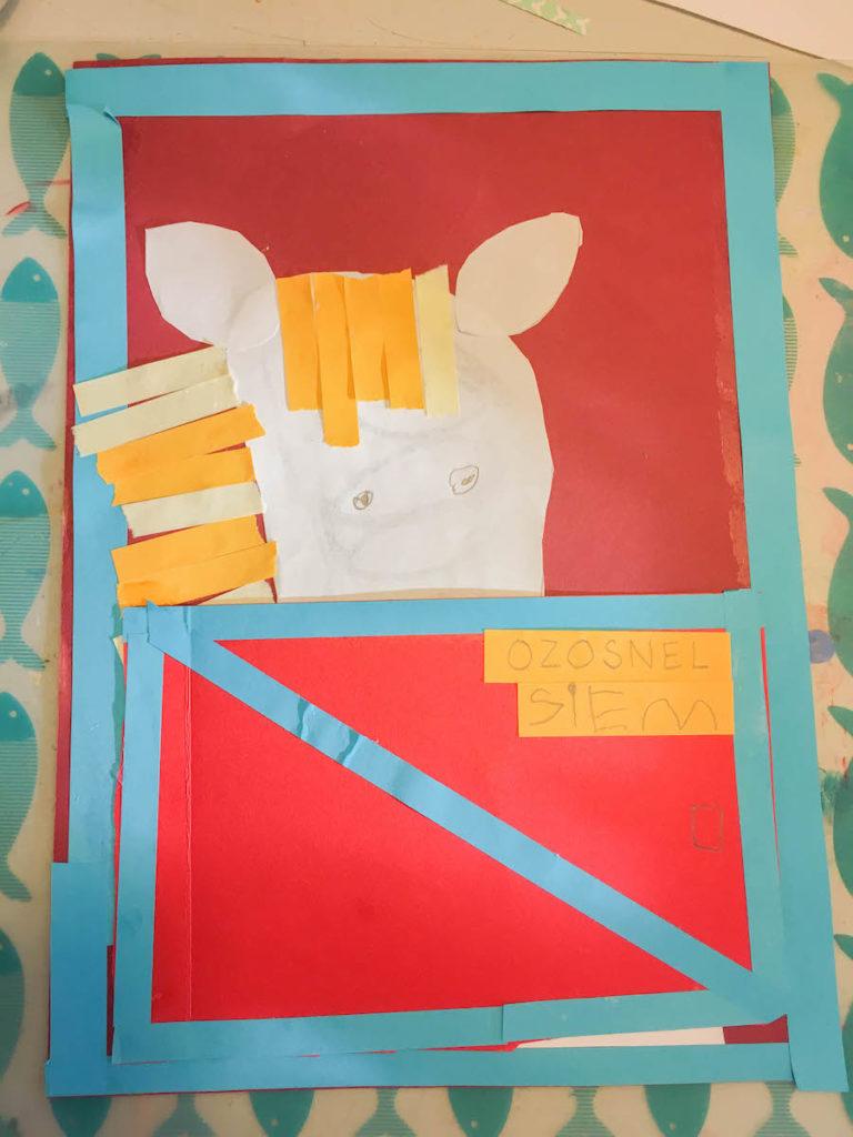 Thema sinterklaas, creatief met kinderen, sinterklaasknuttel, paard van Sinterklaasknutselen, ozosnel, kleuters, middenbouw