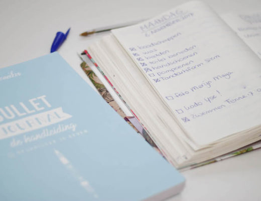 bullet journal, bujo, organiseren, lijstjes, agenda