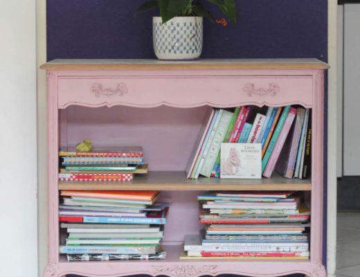 Roze kastje, keet67, kringloop, tweedehands, boekenkastje, interieur,