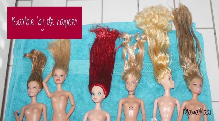 ontklitten haren barbie