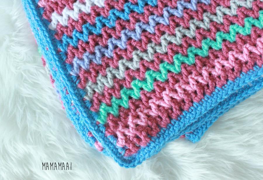 deken haken V stitch