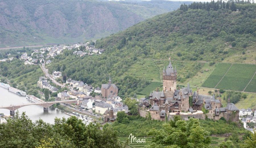 Reichsburg Cochem, eifel, moezel, duitsland