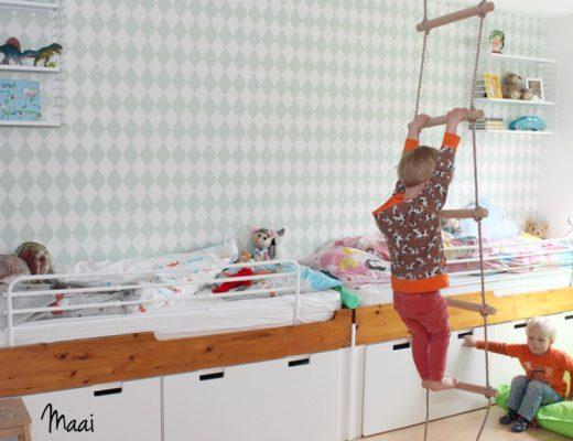 jongenskamer, kinderkamerstyling, interieur, binnenkijken