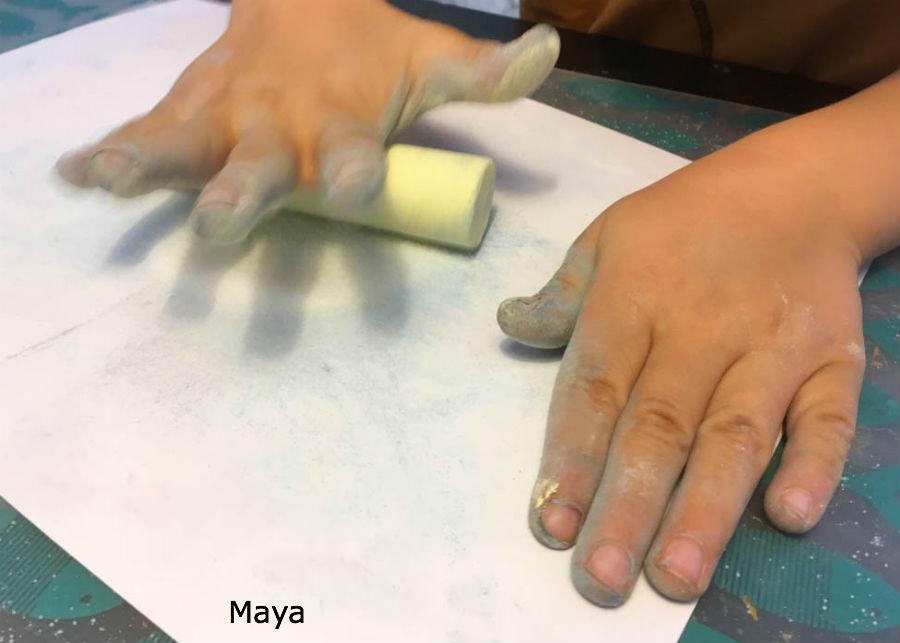 happy sand, stoepkrijt, knutselen, gekleurd zout, crafts for kids