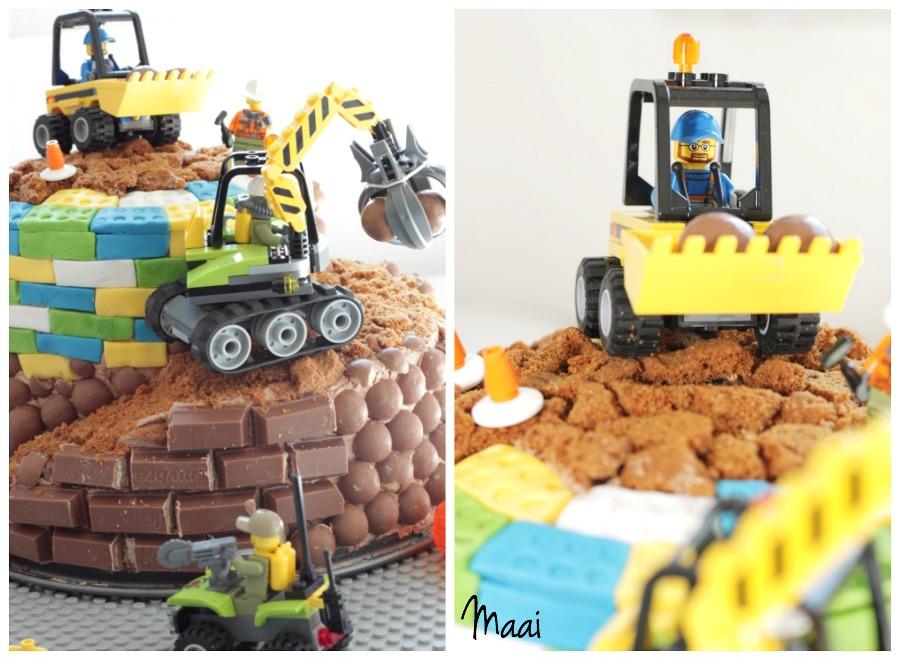 legotaart, lego verjaardagstaart, lego birthday cake, verjaardagstaart jongen, kitkat taart
