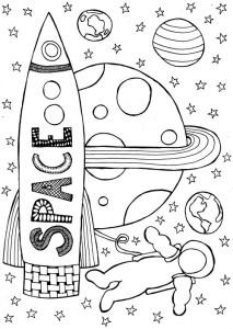 ruimte, marsmannetje, maanmannetje, ruimtevaarder
