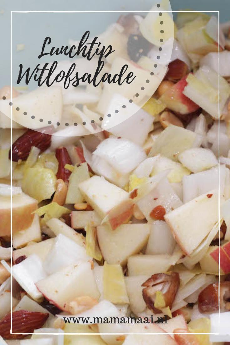 Lunchtip, witlofsalade met appel en dadel