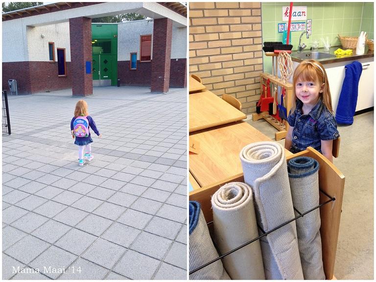 eerste school dag
