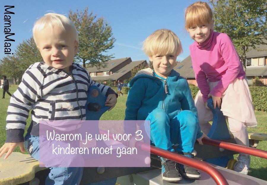 3 kinderen, waarom wel drie kinderen