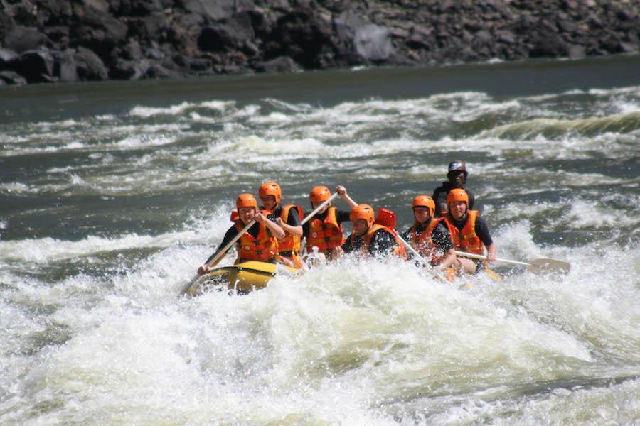 raften Zambezi, afrika, zimbabwe, avontuurlijkste wat ik heb gedaan, avontuur, reizen