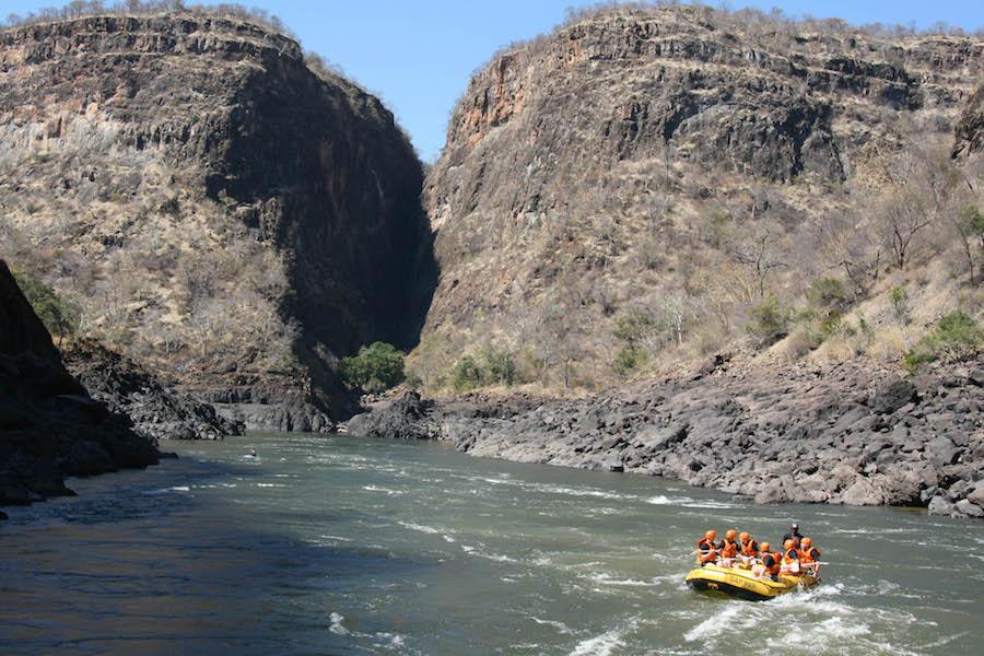 raften op de Zambezi, afrika, zimbabwe, avontuurlijkste wat ik heb gedaan, avontuur, reizen
