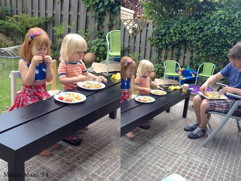 buiten eten