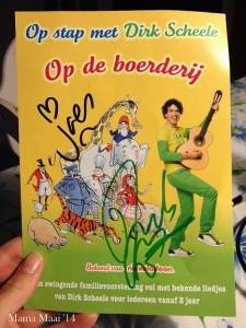 handtekening Dirk Scheele
