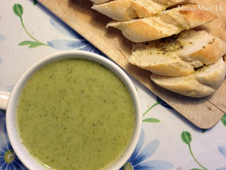 groene soep