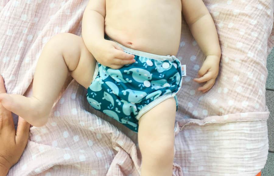 babyzwemmen, wasbare zwemluier, duurzaam, groen leven