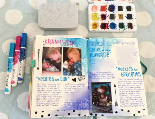 bulletjournal, bujo, creative journal dagboek, hp sprocket