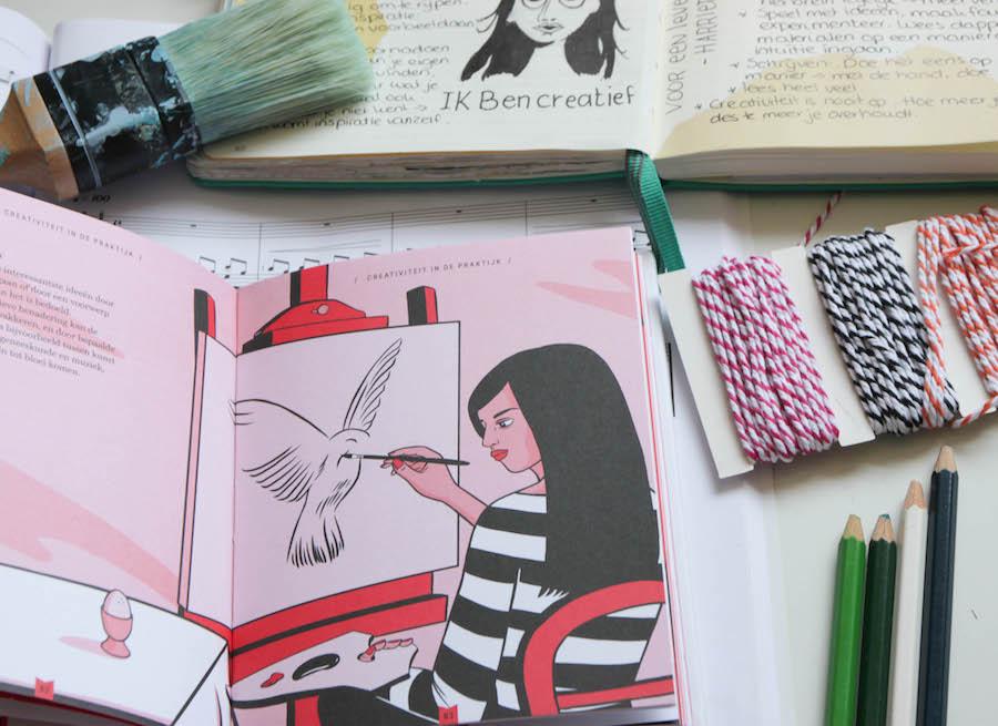 ik ben creatief, voor een leven vol creativiteit, boek, Harriet Griffey, Boekreview, samenvatting, winactie,