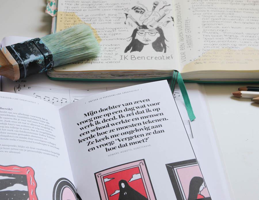 ik ben creatief, voor een leven vol creativiteit, boek, Harriet Griffey, Boekreview, samenvatting, winactie, creativiteit verhogen