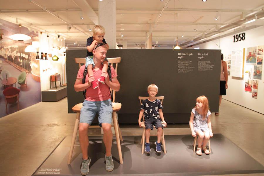 ikeamuseum zweden, almhult, pharosreizen, snoepen van zweden, avontuurlijke familie rondreis door zweden, vakantie met kinderen