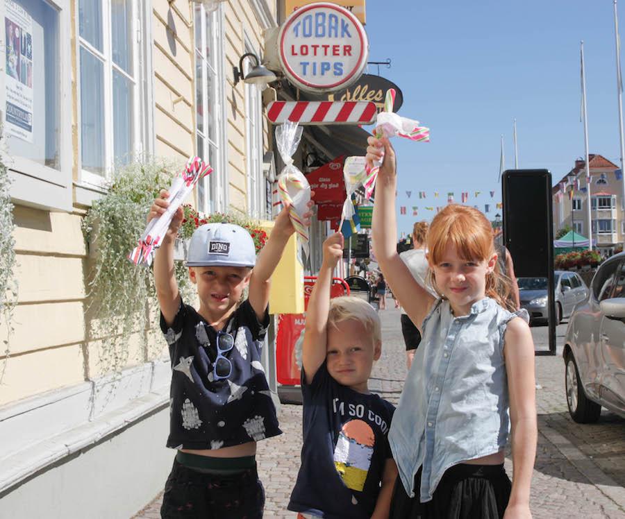avontuurlijke rondreis door zweden, Gränna, snoepstadje, zuurstokken, avontuurlijke rondreis door Zweden, vakantie met kinderen, Pharos reizen