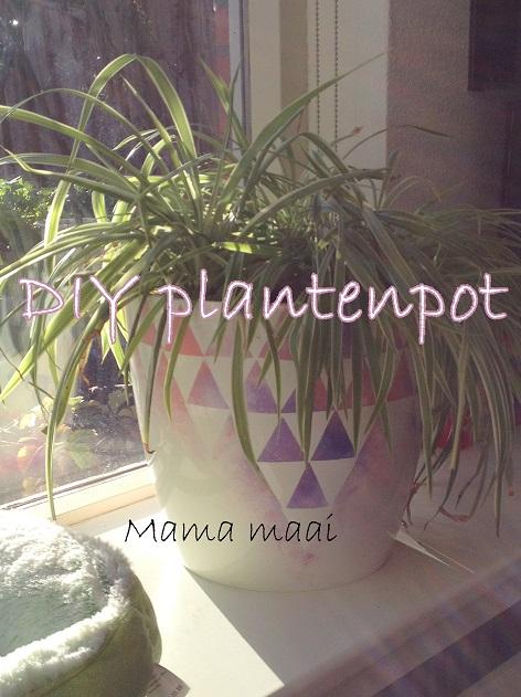 plantenbak verven