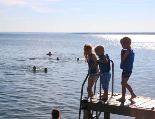 familierondreis door zweden, reizen met kinderen, Gränna, meer Vättern, Pharos reizen