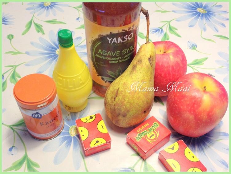gezondere appel peer flappen