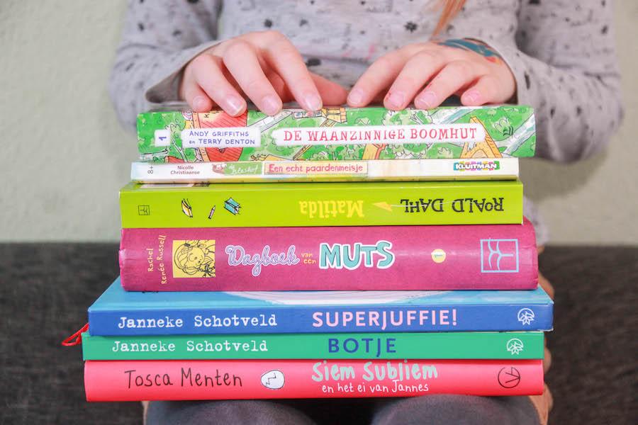 favoriete boeken negen jarig meisje, leuke leesboeken kind 9 jaar, voorleesboeken, kinderboekenweek