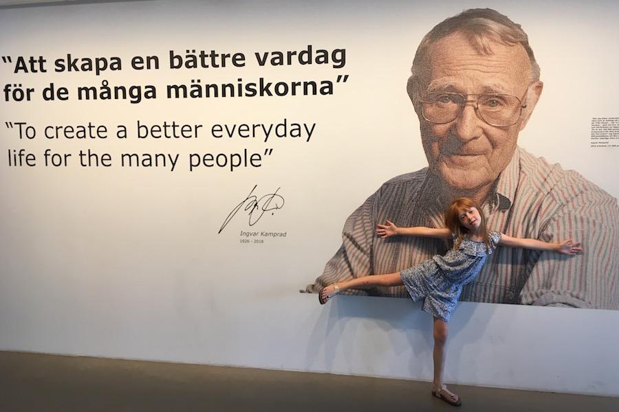 ikeamuseum, ikea 75 jaar, Almhult zweden, vakantie met kinderen, reizen met kinderen,