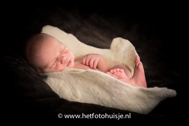 new born shoot fotohuisje