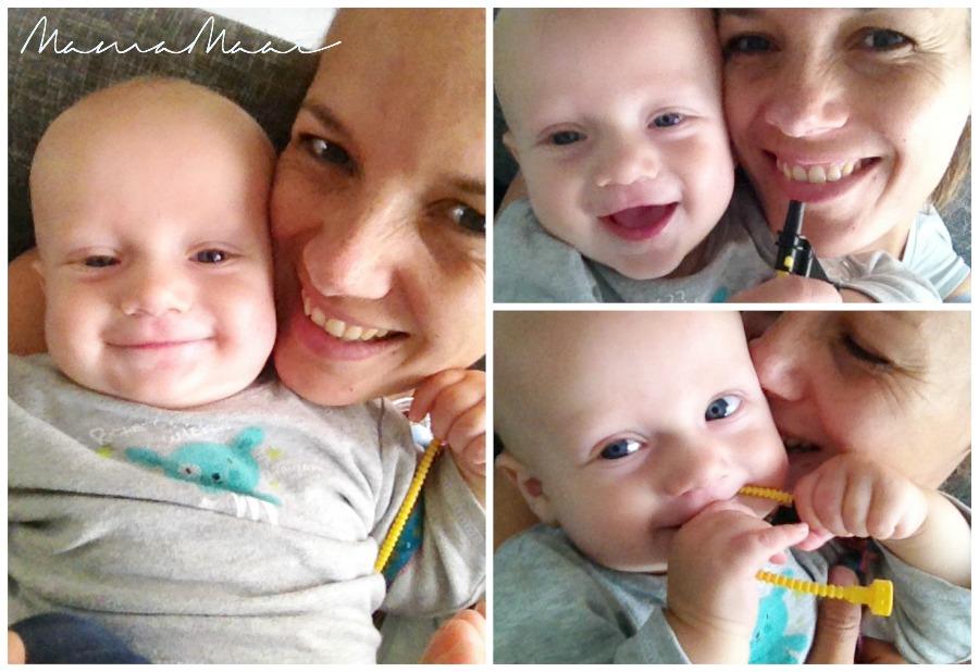 Mama en siem, wat mijn baby denkt