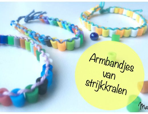 armbandjes maken van strijkkralen, hamabeads, crafts for kids, knutselen met kinderen