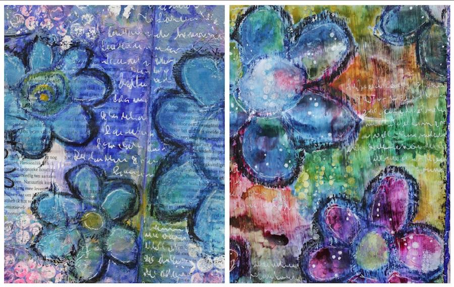 art journal, creative journal, journalling, diy, verven,