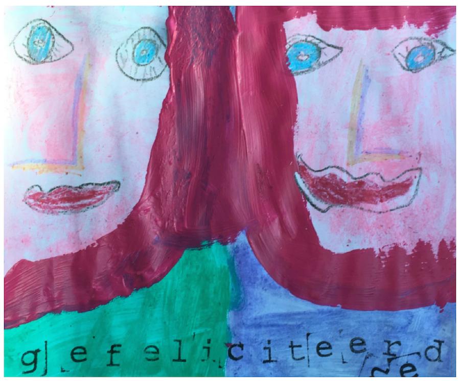 art journal kind, creatief bezig zijn, knutselen