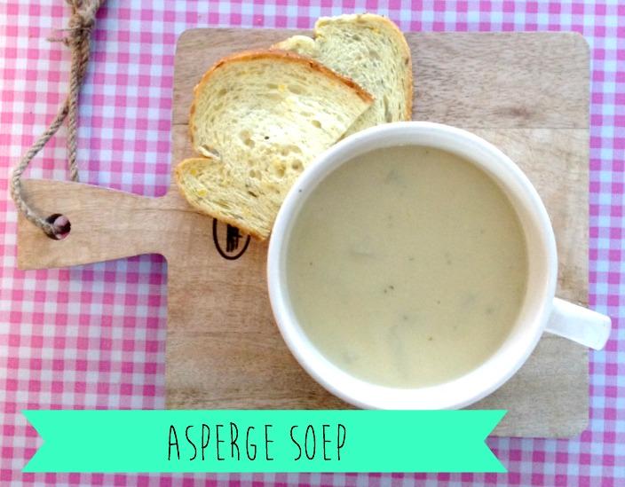 Aspergesoep, soep