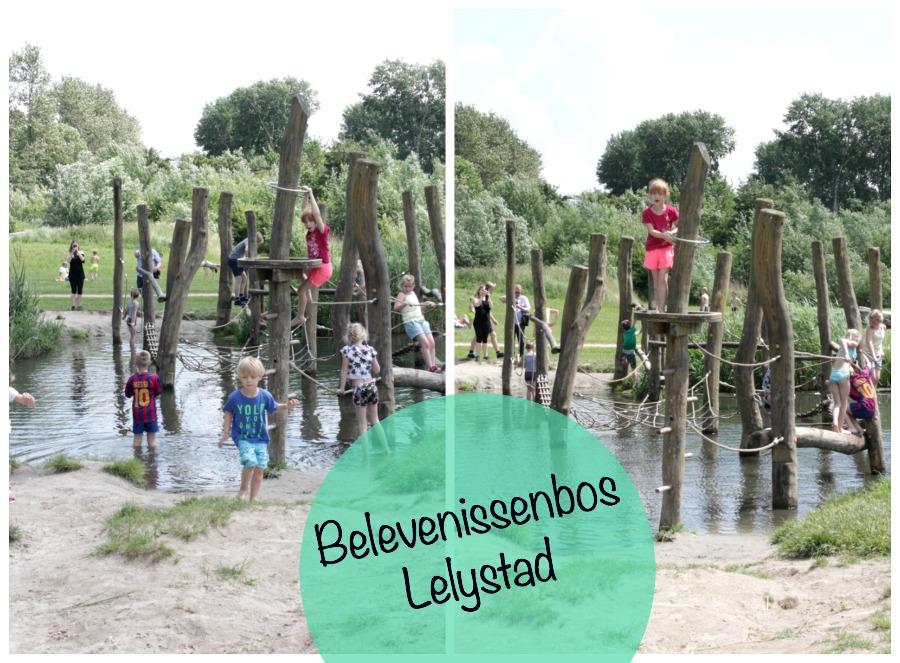 belevenissenbos lelystad, natuurspeeltuin, gratis uitje met kinderen, flevoland dagje weg