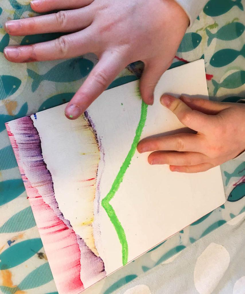verkrijg opdracht om kunst met kinderen te maken