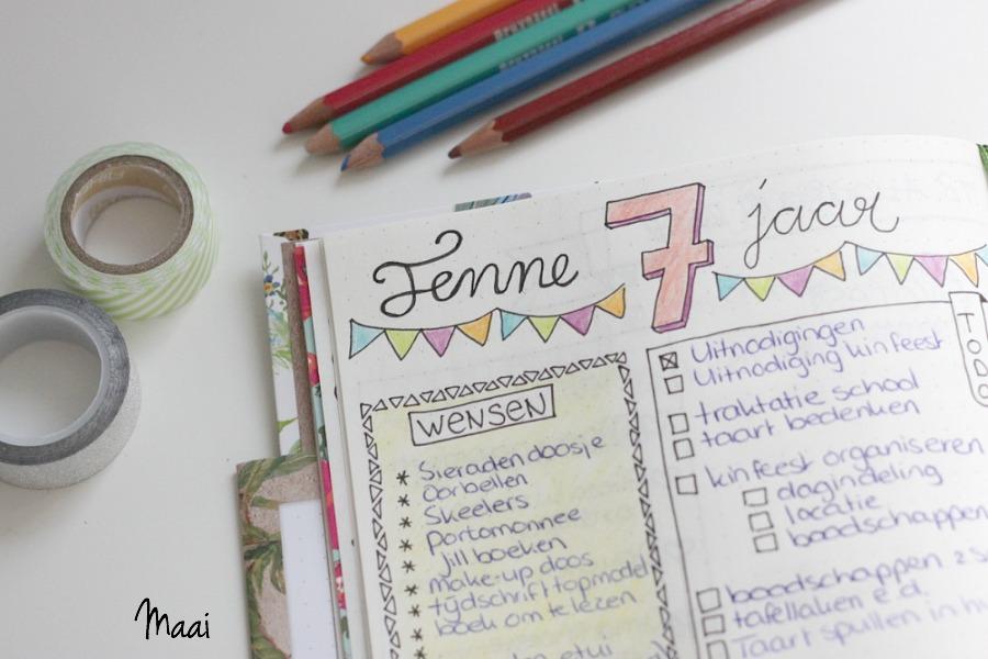 bullet journal, bullet journal de handleiding, bujo, journalling