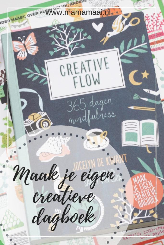 creatief dagboek, mindfulness, creative flow, doeboek, ontspannen