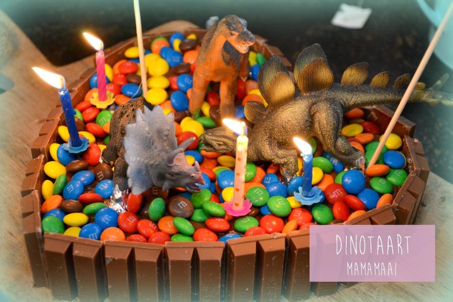 dino taart diy dinosaurus taart kind jongen