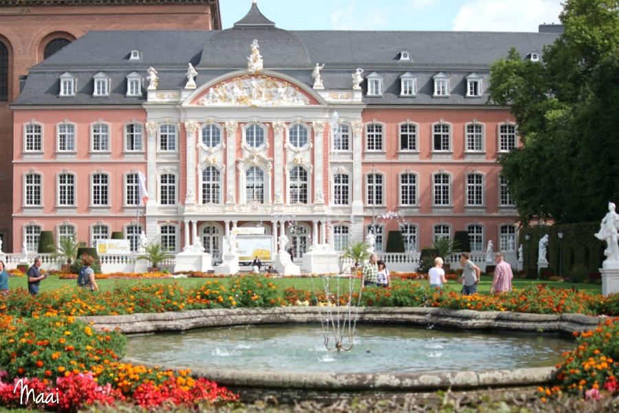 Trier, Eifel met kinderen, Moezel met kinderen ervaring, Duitsland, roze paleis