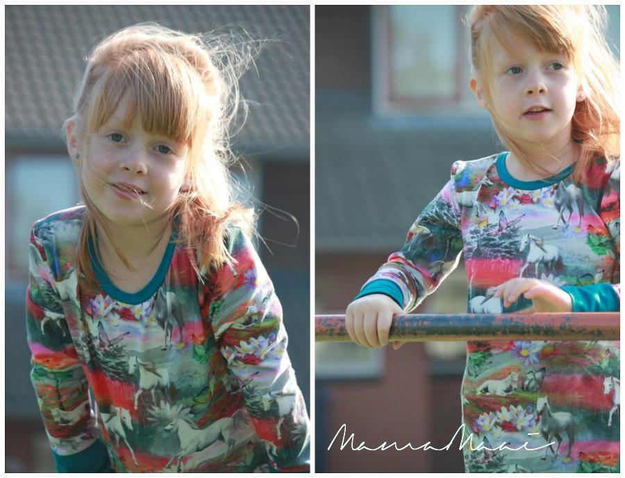 by-ella, meisjes jurk,