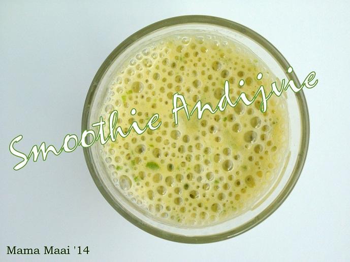 Groene smoothie Andijvie