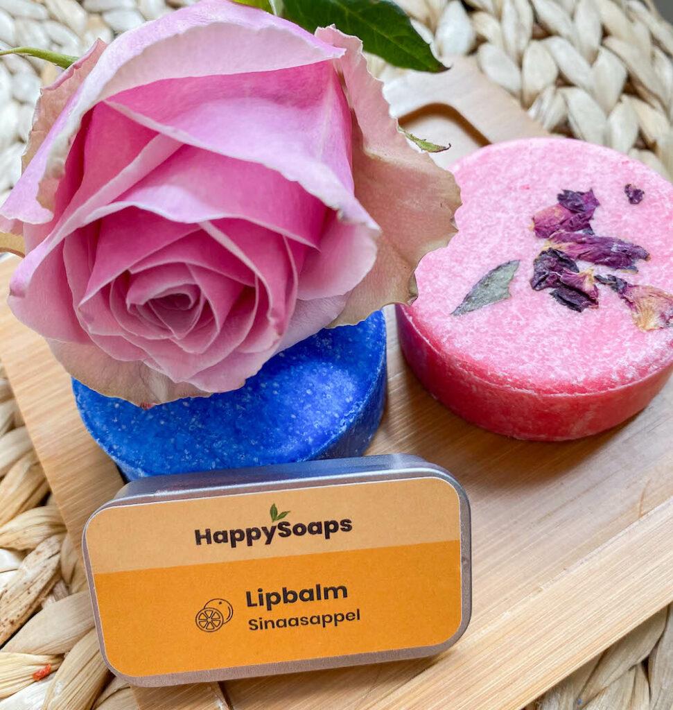 Zero waste cosmetica producten van happy soaps