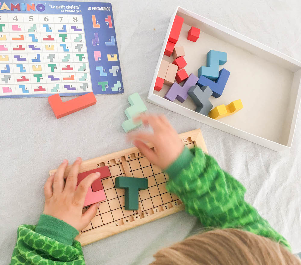 Katamino leuke houten spelletjes voor alle leeftijden