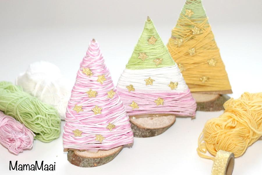 kerstboom knutselen, diy