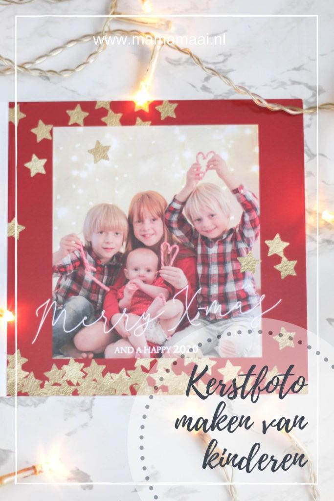 kerstfoto van kinderen maken, diy kerstkaart,  foto kerstkaart maken