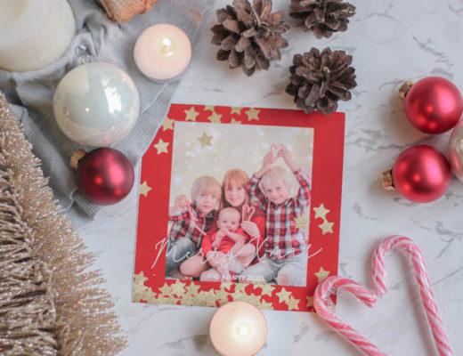 Sfeervolle kerstfoto maken van kinderen