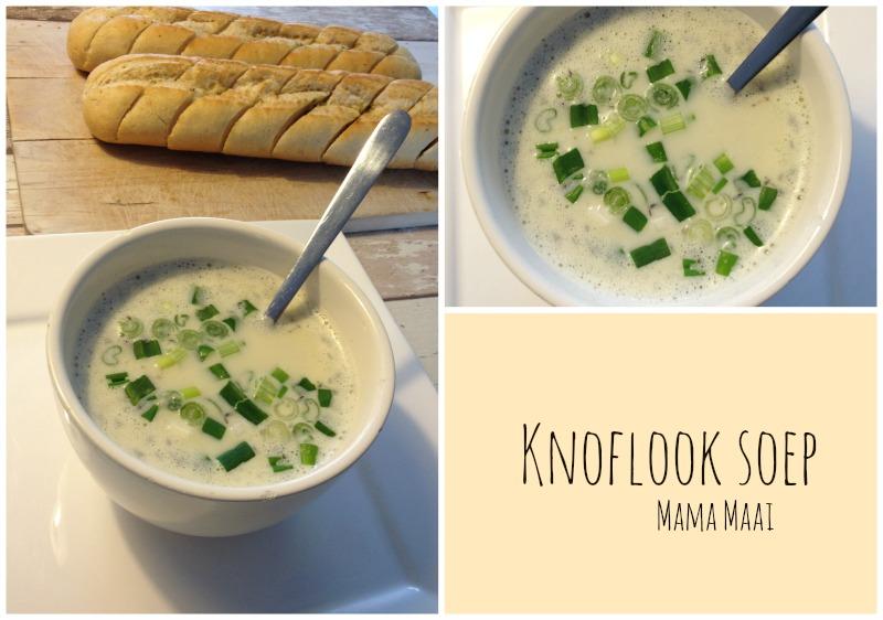 recept knoflook soep