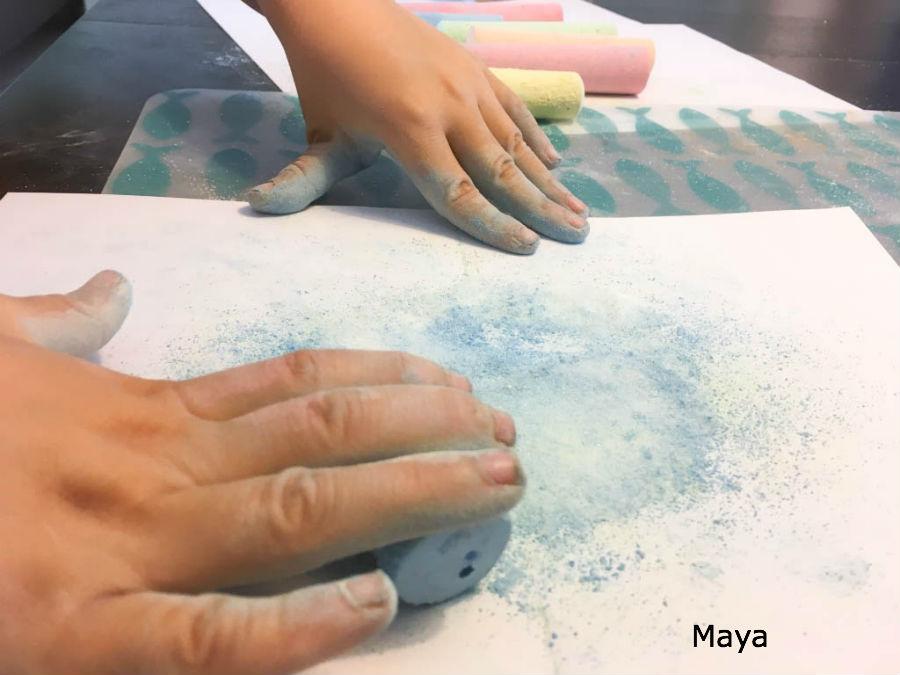 Hoe maak je gekleurd zand?